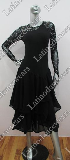 LATIN SALSA COMPETITION DRESS LDW (VL384) LATIN-SALSA-COMPETITION-DRESS-LDW-VL384 Latino Dancewears