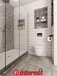 Moderno novo ruho stana na zagrebačkoj Trešnjevci - Jutarnji List Bathroom Niche, Boho Bathroom, Bathroom Trends, Bathroom Design Small, Bathroom Colors, Bathroom Interior Design, Upstairs Bathrooms, Bathroom Inspiration, Decoration