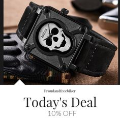 Today Only! 10% OFF this item.  Follow us on Pinterest to be the first to see our exciting Daily Deals. Today's Product: Sale - 10% OFF MILITARY SKULL WATCH - Special offer Buy now: https://small.bz/AAamOWU #musthave #loveit #instacool #shop #shopping #onlineshopping #instashop #instagood #instafollow #photooftheday #picoftheday #love #OTstores #smallbiz #sale #dailydeal #dealoftheday #todayonly #instadaily