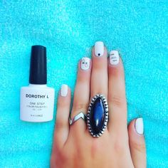 Black and white nails with black details using @dorothylcosmetics One step gel nail polishes  Polishes used: ·DOROTHY L one step color polish gel No. 01  Find me on facebook: @Stellatnails  Follow Dorothy L : Facebook :@DorothyLCosmetics Instagram : @dorothylcosmetics  #nails #DorothyL #dorothylcosmetics #nailpolish #gel #nailart #black #white #blackandwhite Nail Polishes, Gel Nail Polish, Gel Nails, White Nails, Nailart, Nail Designs, Black White, Facebook, Photo And Video