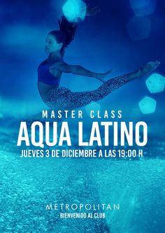 Master Class de Aqua Latino en Metropolitan Murcia.