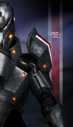 Mass Effect 3 N7 Destroyer PROMO by RedLineR91 on deviantART