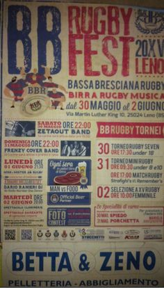 BB Rugby Fest 2015 a Leno http://www.panesalamina.com/2015/37099-bb-rugby-fest-2015-a-leno.html