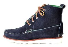Navy Mid-Boot: Waiting patiently for these in the mail. So excited. Pierpont Hicks equals quality.