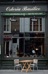 Osteria Basilico a Londra