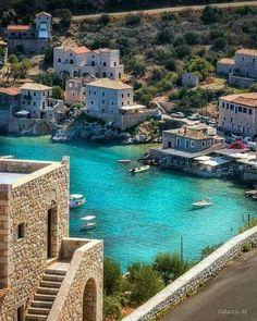 #Limeni, #ManiPeninsula, Greece #manitraveler Beautiful Islands, Beautiful Places, Places Around The World, Around The Worlds, Places To Travel, Places To Go, Greek Beauty, Greek Life, Mediterranean Style