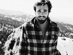 Great smile, hair, & mountain man esthetic.........