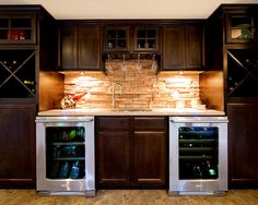 """""""View and collect Modern Bar design ideas at Zillow Digs. Basement Bar Designs, Basement Ideas, Basement Bars, Basement Kitchenette, Modern Basement, Rustic Basement, Kitchenette Ideas, Industrial Basement, Basement Decorating"""