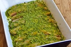Easy Recipe for Baked Pesto Chicken (LowCarb, GlutenFree) | Kalyn's Kitchen®