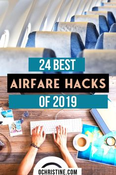 Are you always looking for the cheapest flights? Sharing my 24 Airfare Hacks for Finding the Best Fares and Cheap Flight Deals in I've compiled an epic list of airfare best practices, affordable flight tips, and budget travel advice to help you get Best Flights, Cheapest Flights, Cheapest Airfare, Airfare Cheap, Best Airfare Deals, Travel Flights, Best Travel Deals, Long Flights, Vacation Deals