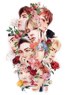 EXO Fanart ❤️ This is amazing Exo Xiumin, Kpop Exo, Baekhyun Fanart, Kpop Fanart, Shinee, Jonghyun, K Pop, Exo For Life, L Wallpaper