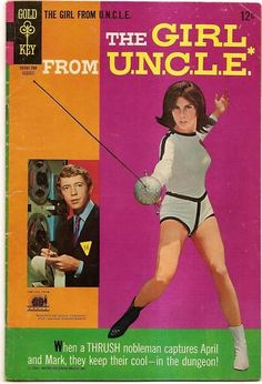 SILVER AGE GOLD KEY COMICS 1967 THE GIRL FROM UNCLE #4