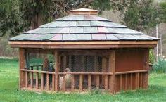 gazebo chicken coop (and other chicken coop ideas) (tbnranch blog)