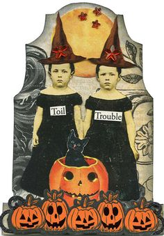 Toil & Trouble Tombstone ATC | Flickr - Photo Sharing!