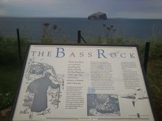 Tantallon castle and the Bass Rock