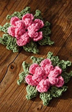 Crochet Flower--Free Pattern
