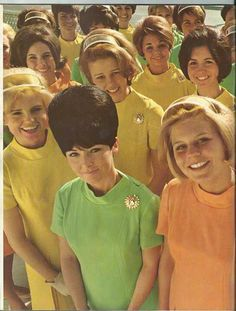 National Airlines Stewardesses circa 1969
