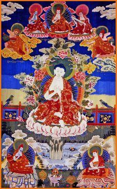 Master Nagarjuna, great Buddhist scholar, 150-250 CE.