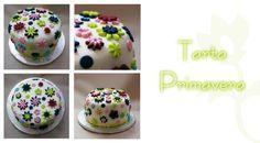 "Tarta personalizada ""Primavera"" #cake #tarta #postre #flores #flower #spring #primavera #fondant"