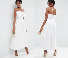 Traditional wedding dresses aren't your jam? This jumpsuit from ASOS is a chic alternative