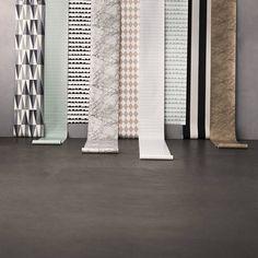 Ferm Living Behang Grid zwart/wit papier 10.05x0.53cm - wonenmetlef.nl
