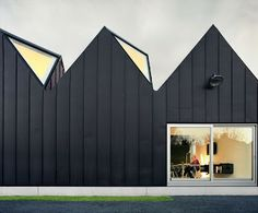 a f a s i a: NU architectuur Black Zinc Cladding