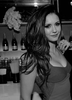 Nina Dobrev at Jennifer Lopez's 2015 American Music Awards After Party // November 22, 2015