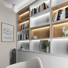 Floating Shelves, Home Office, Shelving, Home Decor, Book Storage, Small Spaces, Wall, Ideas, Houses