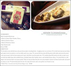 Copycat recipe white cheddar stuffed mushrooms from Longhorn Steakhouse: