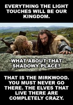 I love how Thorin, Fili, and Kili have been compared to as lions! The Hobbit + The Lion King.