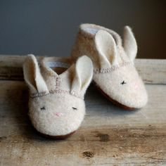 Fancy - Thumper Slippers by Wooly Baby