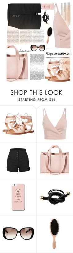 """""""Untitled #47"""" by sabah-zhr ❤ liked on Polyvore featuring Steve Madden, LE3NO, Corto Moltedo, Colette Malouf and Gucci"""