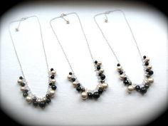 Custom Bridesmaid Jewelry  all colors by JustMadeJewelry on Etsy, $20.00