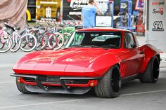 Corvette C2 - ultimate dream vehicle. Just one of the things keeping me motivated.