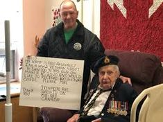 sunnybrook.ca veterans - Google Search 100th Birthday Card, Birthday Cards For Him, Birthday Gifts, Ww2 Veterans, John Tory, Italian Campaign, Love Mail, Send A Card, Big Party
