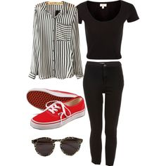 """""""Stripes"""" by pintune717 on Polyvore"""