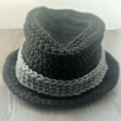 Cute little man hat! $20 available at The Vintage Ewe