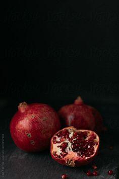 Pomegranates by levitijerina - Levi Tijerina   Stocksy United