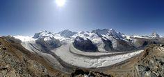 Section Monte Rosa Zermatt, Construction, Cas, Mount Everest, Mountains, Nature, Travel, Time Out, Red Floor