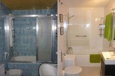 Baños con azulejos pintados | Decorar tu casa es facilisimo.com