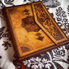 A Safavid Binding Art journal by #paperblanks | From Instagram by @reckless_chic