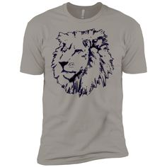 Just added this new Joseph Lion Outli... Check it out! http://catrescue.myshopify.com/products/joseph-lion-outline-next-level-premium-short-sleeve-tee?utm_campaign=social_autopilot&utm_source=pin&utm_medium=pin