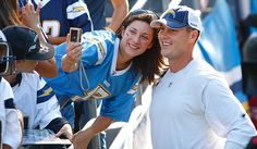 Philip Rivers and a fan