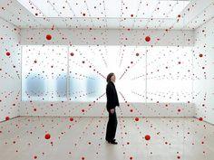 Installation by German artist Katharina Hinsberg.