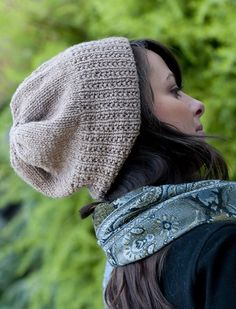 Mock Rib Watch Cap     *Free Pattern