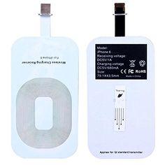 現在在庫切れです。iPhone 6/iPhone 6 Plus/ (iOS 8.0.2対応)Qi対応 超薄型  0.9mm無線充電化キット 専用クリアケースセット (iPhone 6 専用) CellEbest