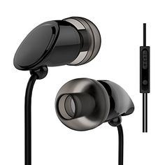 Vomercy Wired Earbuds for Running In Ear Headphones with…