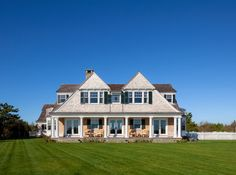 Atlantic Drive Double Gable - beach style - exterior - boston - Patrick Ahearn Architect