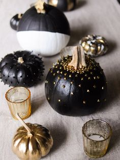 Sick of carving typical jack-o'-lanterns? Use these ideas to majorly up your fall decor game this year.