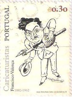 Caricaturistas - Francisco Valença - Portugal